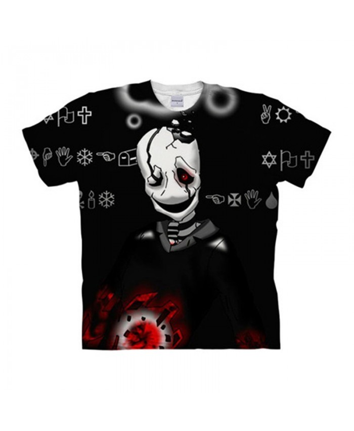 Shantou Undertale 3D Printed Men Anime tshirt Crossfit Shirt Casual Short Sleeve Male T Shirt Men Brand Tops&Tee