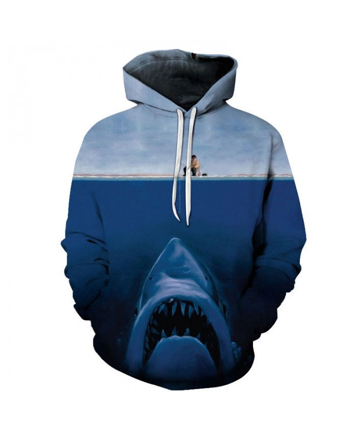 Shark Print 3d Hoodies Men Women Sweatshirts Pullover Male Summer Tracksuits Brand Anime Drop Ship 2018