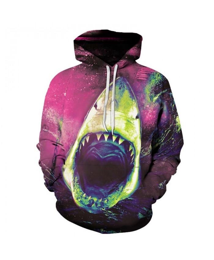 Sharp Toothed Crocodile Men hoodies Pullover Sportsuit Pullover Sweatshirt Fashion Hoodie Long Sleeve Men Tops