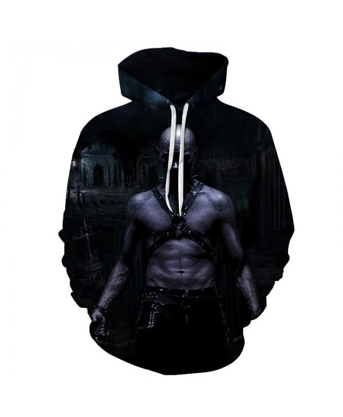 Shirtless Steel Man 3D Printed Men Pullover Sweatshirt Clothing for Men Custom Pullover Hoodie Casual Hoodies Men