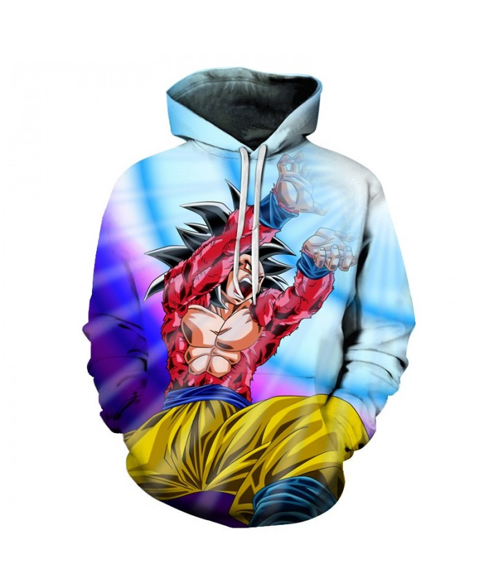 Shock Ball Dragon Ball Hoodies Men Women 3D Hoodie Dragon Ball Z Sweatshirts Anime Fashion Casual Tracksuits Boy Jackets Hooded Pullover