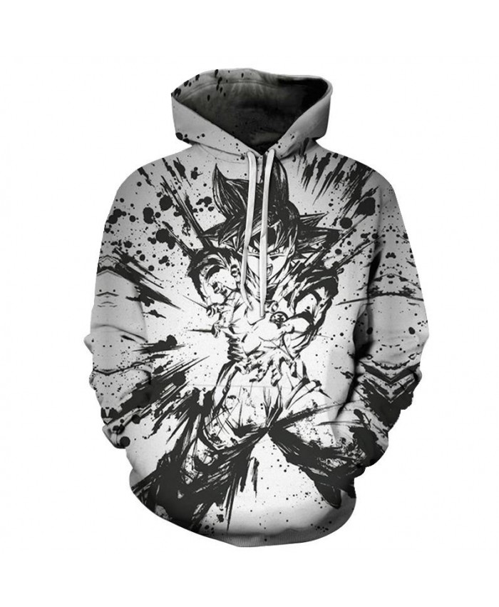 Shockwave Super Saiyan Dragon Ball Hoodies Men Women 3D Hoodie Dragon Ball Z Sweatshirts Anime Fashion Casual Tracksuits