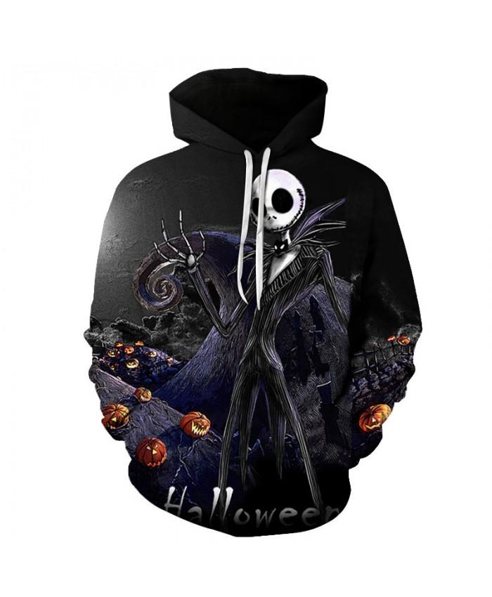 Skull Halloween 3D Hoodies Men Hoody Harajuku Hoodie Streatwear Sweatshirt Tracksuit Pullover Coat Hip Hop Dropship