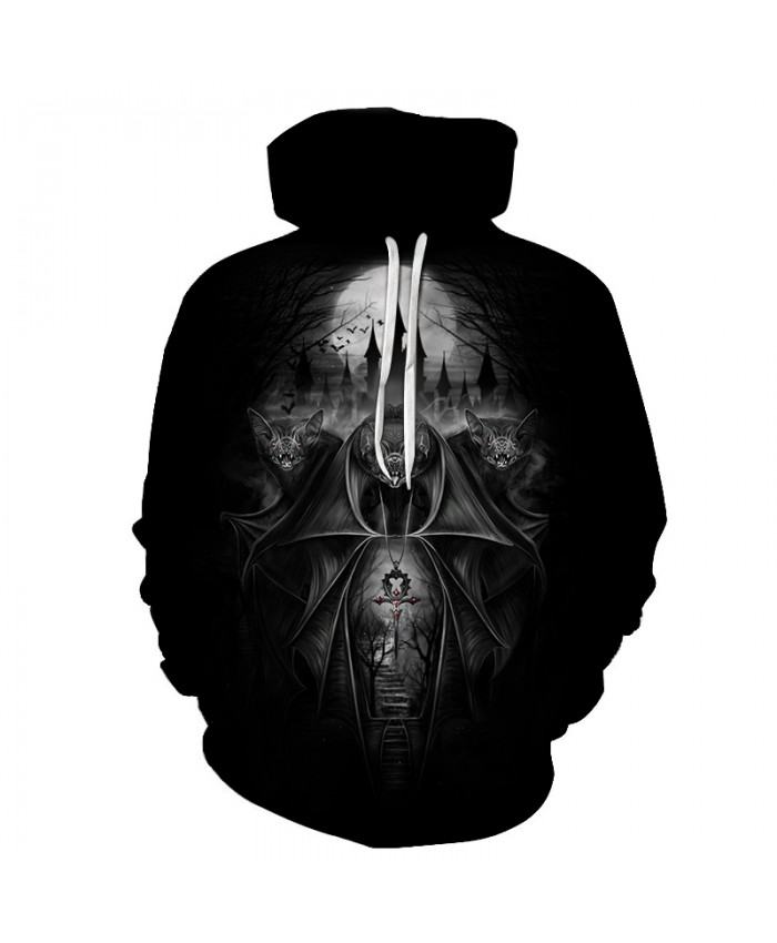 Skull Hoodies 3D Printed Mens Hoodie 2018 Fashion Clothing for Men Custom Autumn Winter Sweatshirts Pullover Drop Ship B