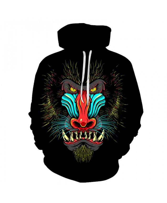 Skull Hoodies 3D Printed Mens Hoodie 2018 Fashion Clothing for Men Custom Autumn Winter Sweatshirts Pullover Drop Ship C