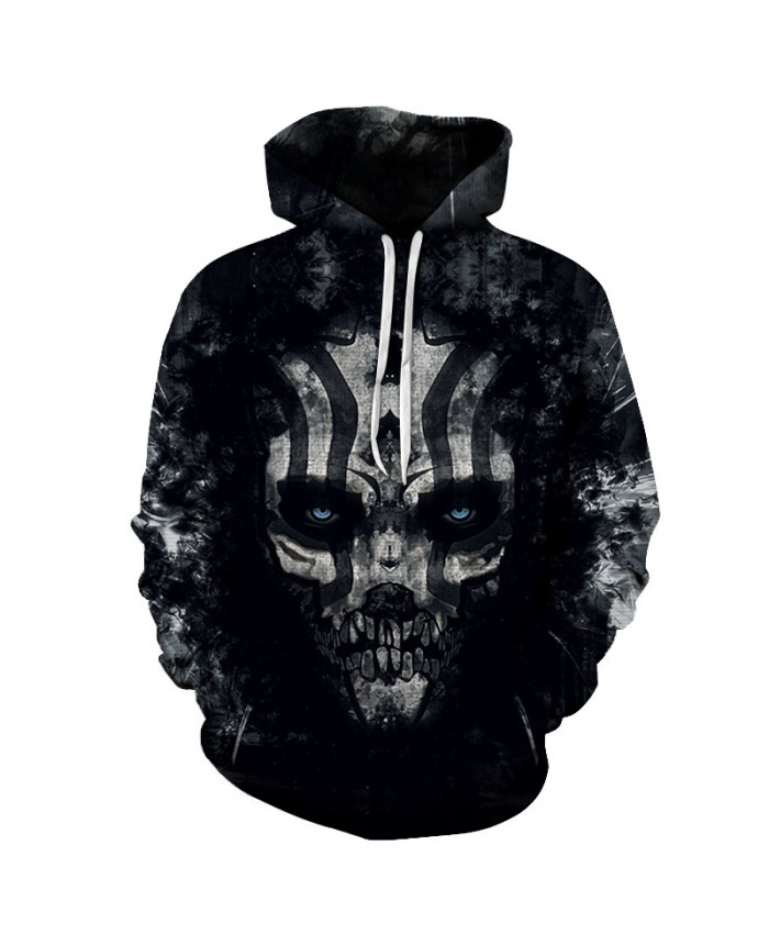 Skull Hoodies 3D Printed Mens Hoodie 2018 Fashion Clothing for Men Custom Autumn Winter Sweatshirts Pullover Drop Ship D
