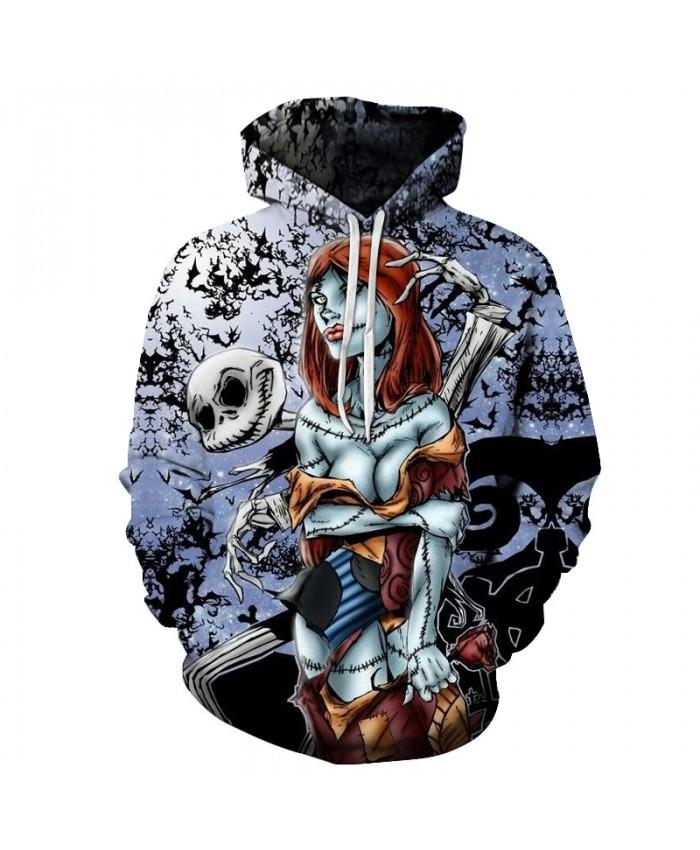 Skull Lover 3D Print Hoodies Men Hoody Harajuku Hoodie Streatwear Sweatshirt Tracksuit Pullover Coat Hip Hop Dropship