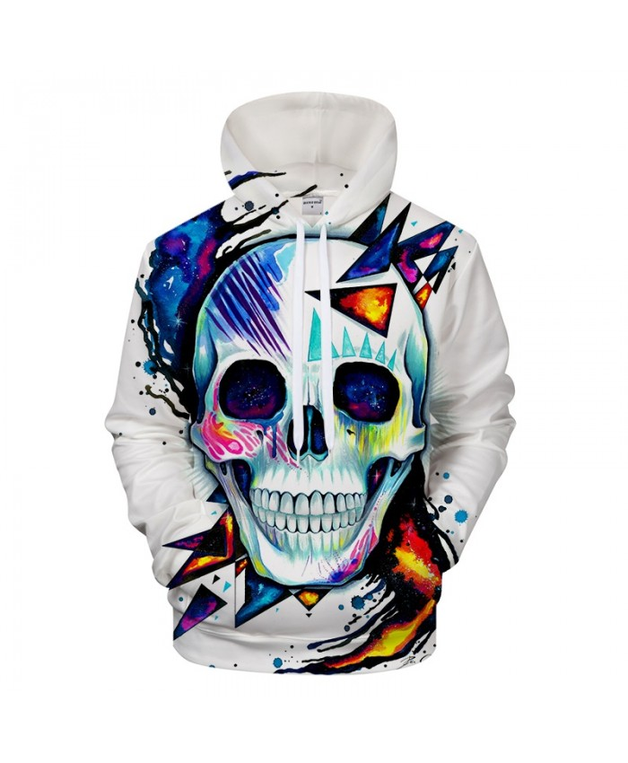 Skull by Pixie cold Art Mens Hoodies 3D Prints Sweatshirts Hoodie Brand 2021 Pullover Men Clothing Drop Ship