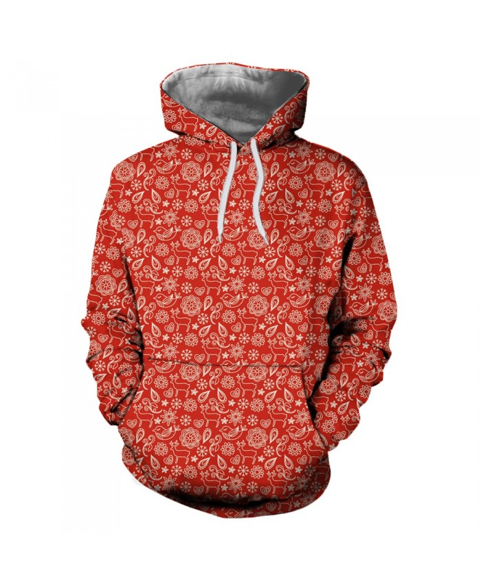 Small Gift Pattern Christmas Hoodies 3D Sweatshirts Men Women Hoodie Print Couple Tracksuit Hooded Hoody Clothing