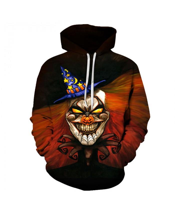 Smile Halloween 3D Print Hoodies Men Hoody Harajuku Hoodie Streatwear Sweatshirt Tracksuit Pullover Hip Hop Dropship