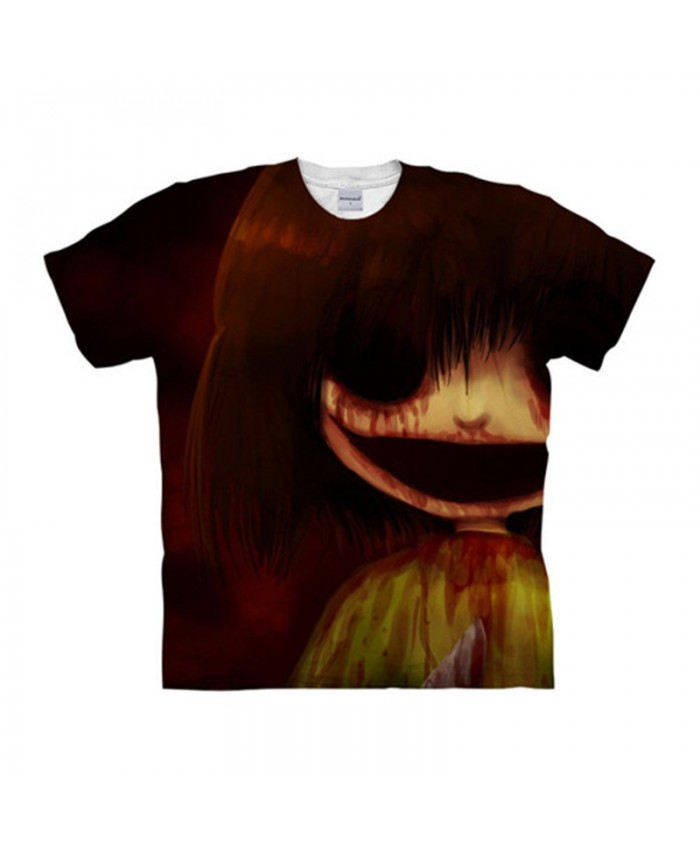 Smile Undertale 3D Print Men tshirt Crossfit Shirt Casual Summer Short Sleeve Male T Shirt Men Brand Round Neck