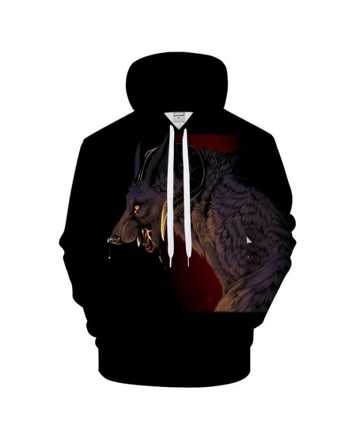 Snake 3D Hoodies Wolf Hoody Men Women Sweatshirt Funny Pullover Anime Tracksuit Streatwear Coat 2021 HipHop DropShip