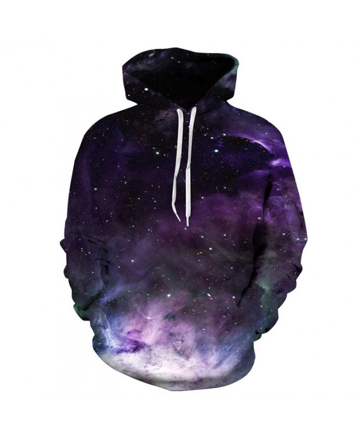 Space Galaxy 3d Sweatshirts Men/Women Hoodies Hat Clown Print Stars Autumn Loose Hoody Thin Hooded Tops Hoody Outwear