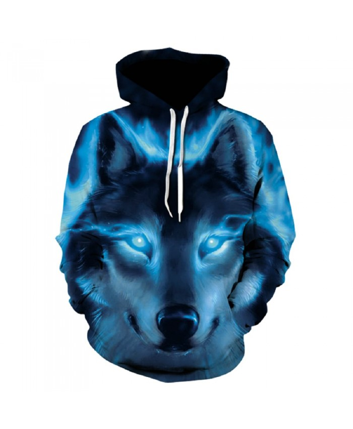 Space Galaxy Wolf Hoodie Hoodies Men Women 2019 New Fashion Spring Autumn Pullover Sweatshirts Sweat Homme 3D Tracksuit