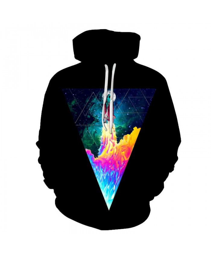Space Hoodies Colorful Sweatshirts Men Women Pullover Hooded Tracksuits Pocket Jackets 3D Printed Male Outwear Brand Streetwear