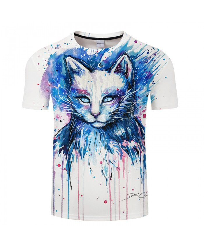 Space by Pixie cold Art Tshirt Mens tshirts 2021 Summer Unisex Casual Tees Tops Plus Size Drop Ship