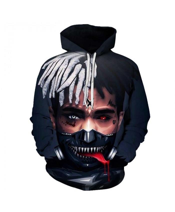Spit Red Tongue Mens Pullover hoodies Streetwear Sweatshirt Fashion Sportsuit Hoodie Long Sleeve Tops Sell Men