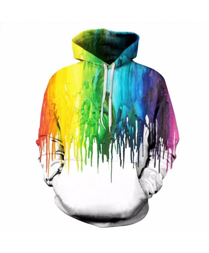 Splash paint 3D Hoodies Men Women Sweatshirt Unisex Tracksuit Fashion Pullover Brand Drop Ship Hoodie Quality Jakcet