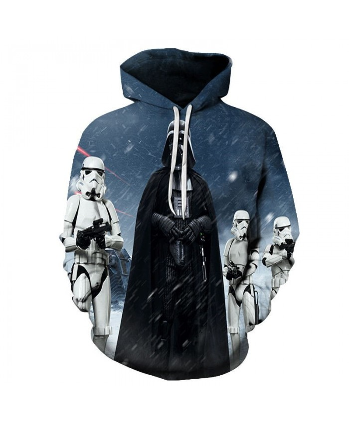 Straight Black Man Star Wars 3D Printed Mens Pullover Sweatshirt Clothing for Men Custom Pullover Hoodie Drop Ship