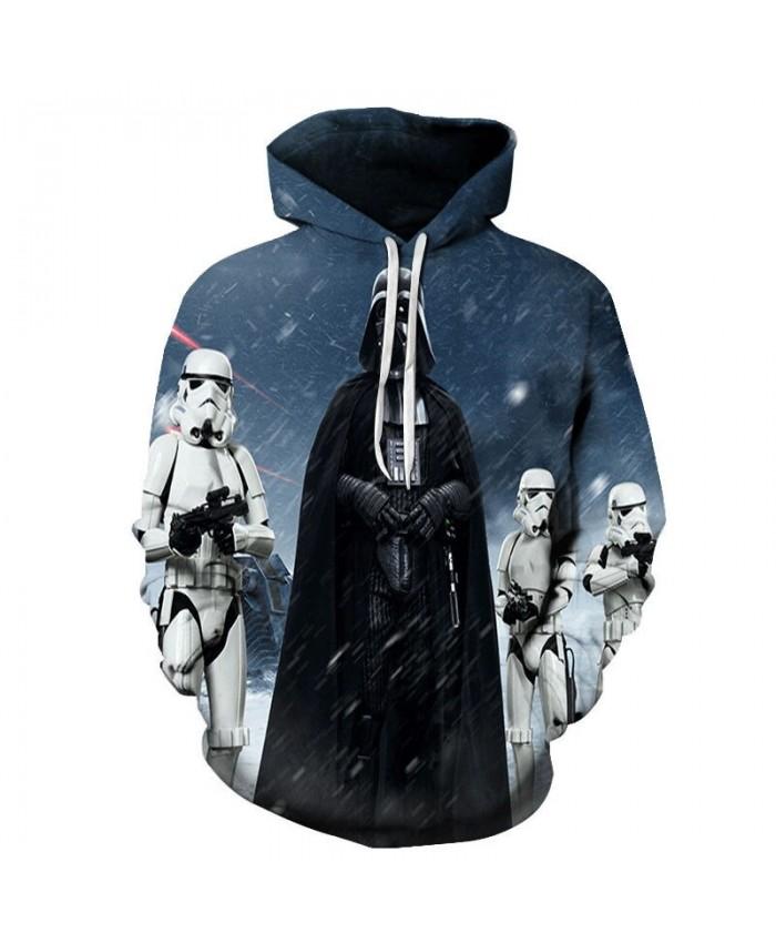 Straight Black Man Star Wars 3D Printed Mens Pullover Sweatshirt Clothing for Men Custom Pullover Hoodie Drop Ship