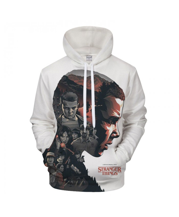 Stranger Things 3D Hoodies Pullover Hoody Men Women Sweatshirt Printed Tracksuit Autumn Streatwear Hip Hop Drop Ship
