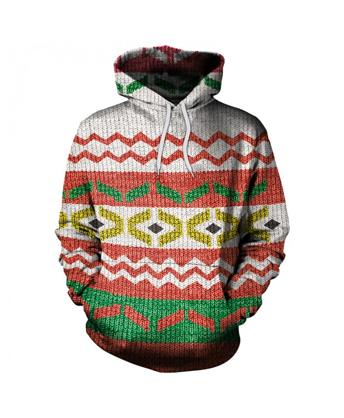 Stripe Christmas Sweater Unisex Men Women Vacation Santa Elf Pullover Funny Sweaters Tops Autumn Winter Clothing