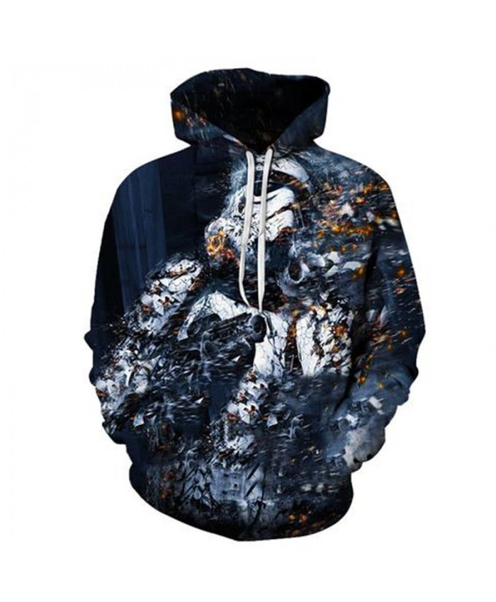 Summer Printed Hoodies Men 3D Women Sweatshirts Pullover Tracksuits Quality Brand Hoodies Drop Ship Soldier