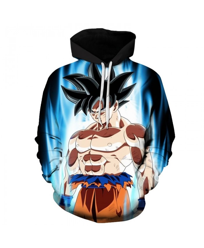 Super Muscle Fighting Goku 3D Print Hoodies Dragon Ball Long Sleeve Band Hoodie Men Women Pullover Tracksuit Sweatshirts DropShip