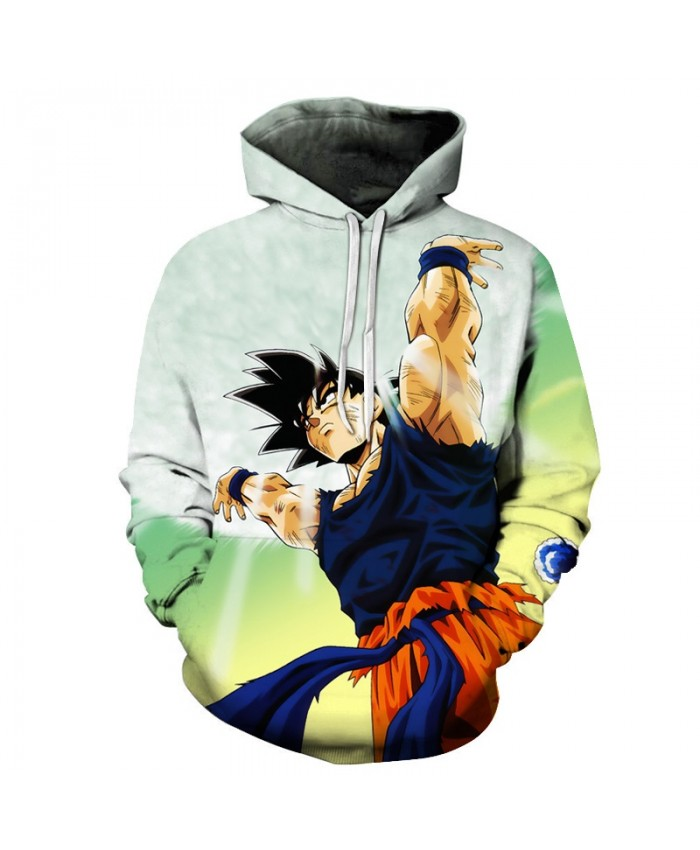 Super Saiyan 3D Men Hoodie Print Tracksuit Goku Pullover Band Hoodie Streetwear Pullover Dragon Ball Sweatshirts Hooded DropShip