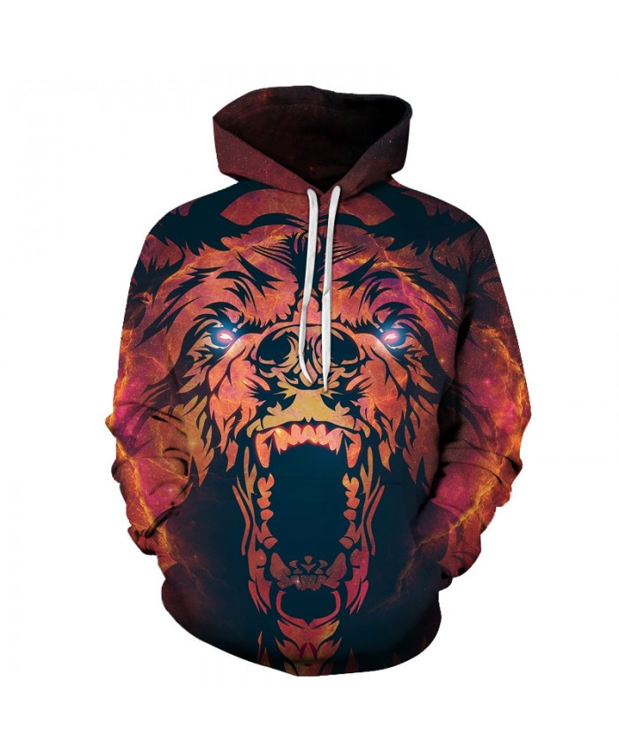 Supernova Space 3D Hoodies Men Brand Sweatshirts Bear BrotherHood Pullover Fashion Causual Tracksuits Printed Jackets Unisex