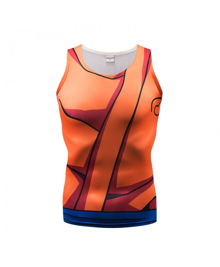 Tank Tops Men Women Vest Naruto Male singlet Anime Tops&Tees Fitness Tight Casua Bodybuilding Sleeveless Summer Cool