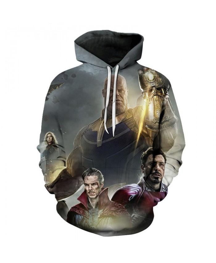 Thanos 3D Print Sup Hoodie Mens Long Sleeve Sweatshirt Avengers Endgame Hoodies Men's Sweatshirt Fashion Men Hoodies