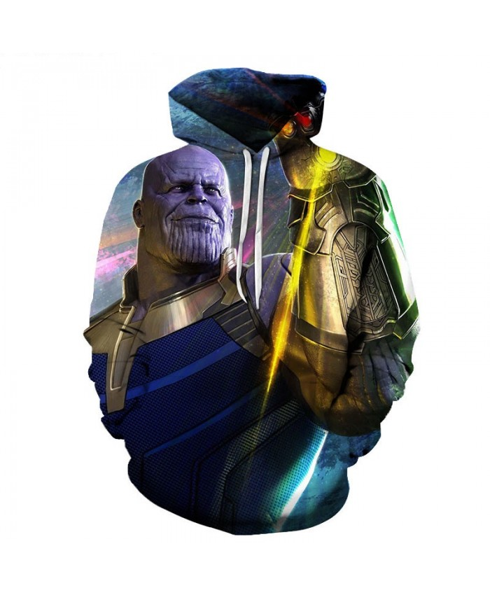 Thanos 3D Print Sup Hoodie Mens Pullover Sweatshirt Mens Sweatshirt Casual Hoodies Men Long Sleeve Hoodies Capitana Marvel