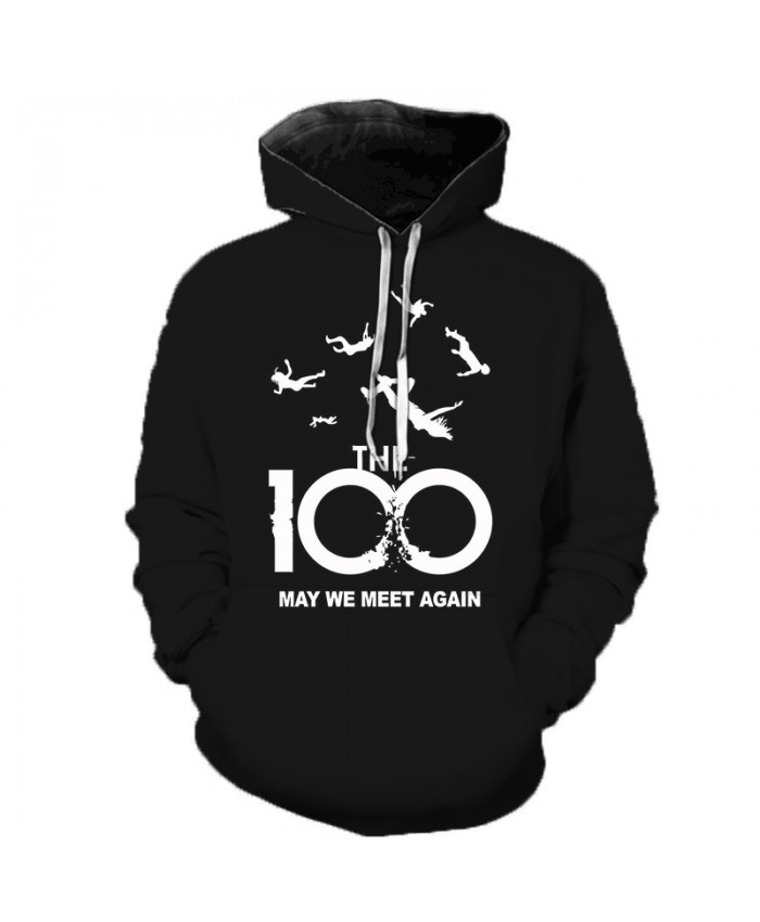 The 100 Tv Show 3D Printed Hoodies Men Women Casual Streetwear Hoody Sweatshirts Tracksuit Fashion Hip Hop Sudadera Hombre