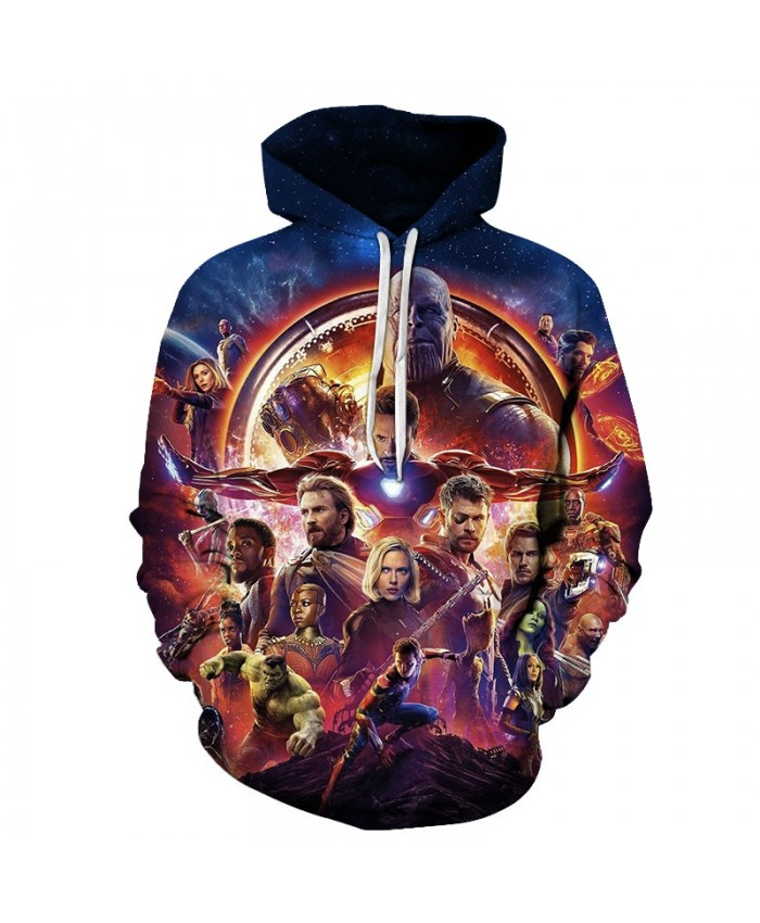 The Avengers 3D Printed Men Pullover Sweatshirt Clothing for Men Custom Pullover Hoodie Fashion Casual Hoodies Men