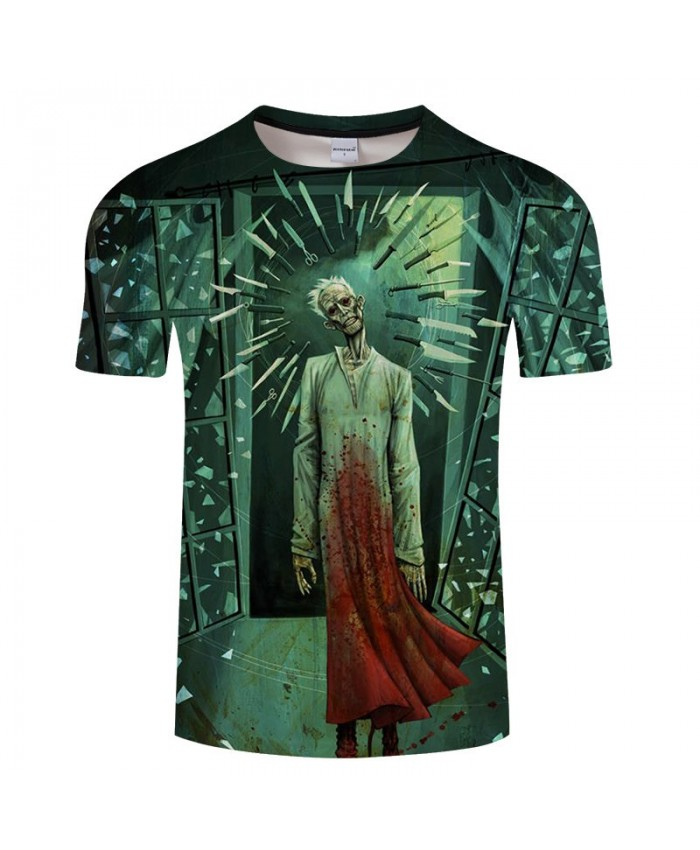 The Body Is Covered With Blood 3D Print tshirt Men tshirt Summer Casual Short Sleeve Male O-neck Tops&Tee Drop Ship