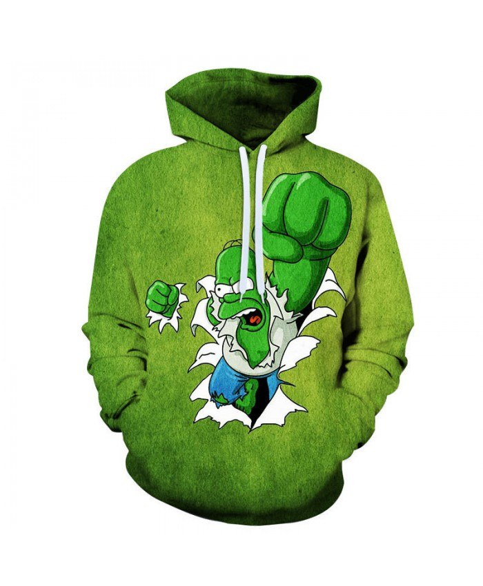 The Simpsons Hoodie 3D Print Sweatshirt Hoodies Children Wear Hip Hop Sweatshirt For Clothes Y