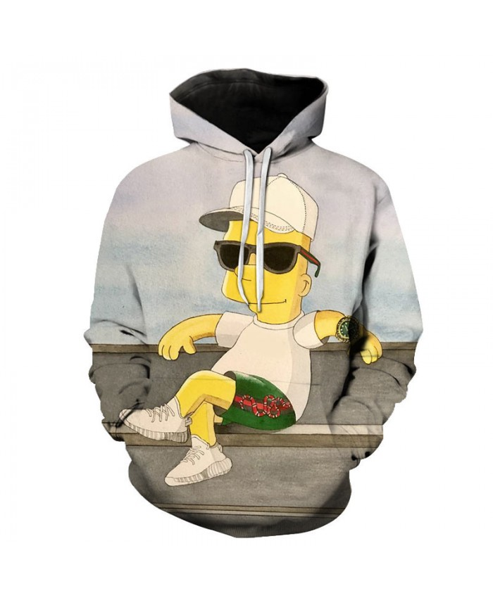 The Simpsons Printed 3D Men Women Hoodies Sweatshirts Quality Hooded Jacket Novelty Streetwear Fashion Casual Pullover BB