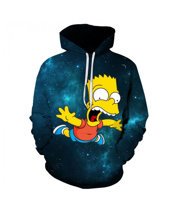 The Simpsons Printed 3D Men Women Hoodies Sweatshirts Quality Hooded Jacket Novelty Streetwear Fashion Casual Pullover D