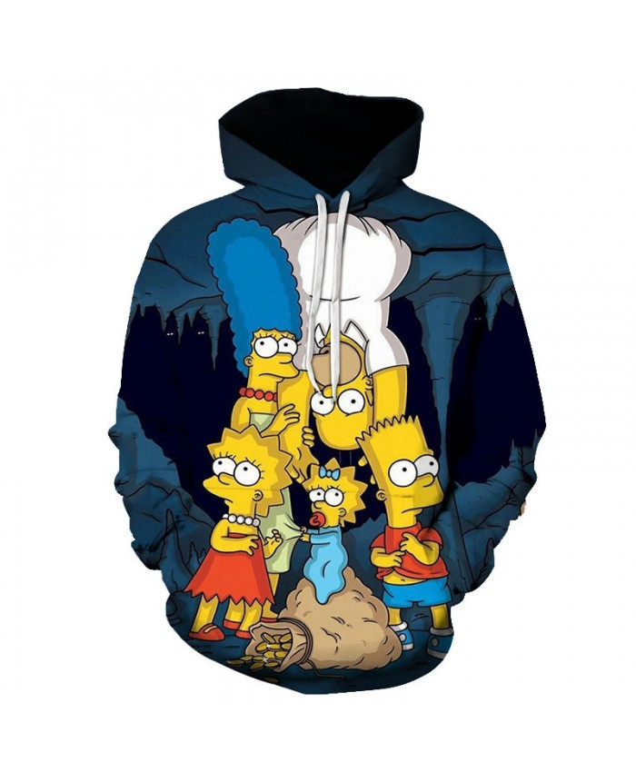 The Simpsons Printed 3D Men Women Hoodies Sweatshirts Quality Hooded Jacket Novelty Streetwear Fashion Casual Pullover DD