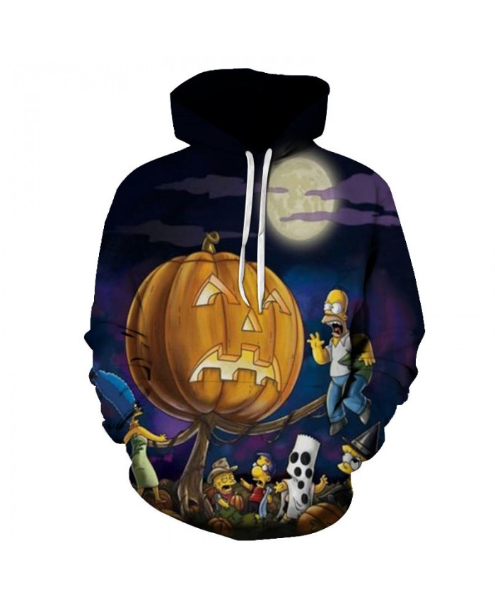 The Simpsons Printed 3D Men Women Hoodies Sweatshirts Quality Hooded Jacket Novelty Streetwear Fashion Casual Pullover F