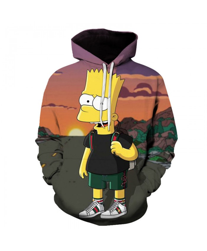 The Simpsons Printed 3D Men Women Hoodies Sweatshirts Quality Hooded Jacket Novelty Streetwear Fashion Casual Pullover G