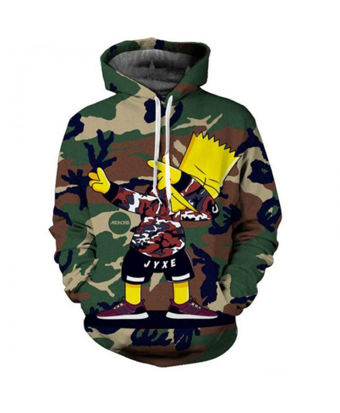 The Simpsons Printed 3D Men Women Hoodies Sweatshirts Quality Hooded Jacket Novelty Streetwear Fashion Casual Pullover JJ