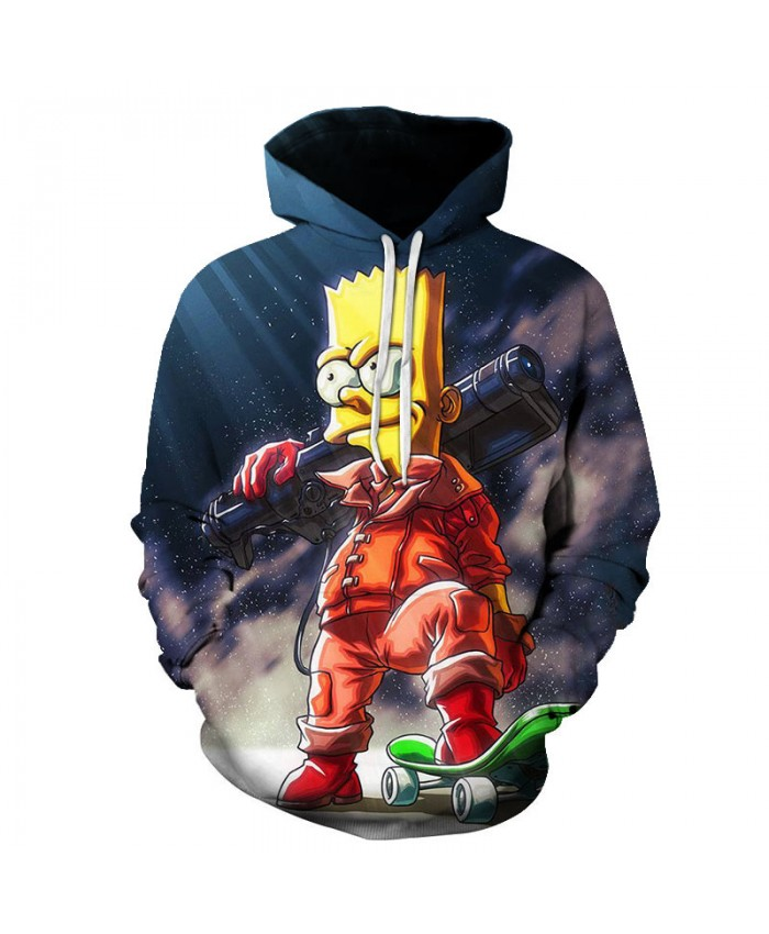The Simpsons Printed 3D Men Women Hoodies Sweatshirts Quality Hooded Jacket Novelty Streetwear Fashion Casual Pullover N