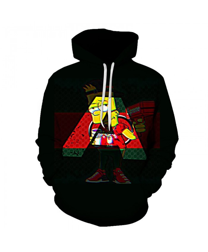 The Simpsons Printed 3D Men Women Hoodies Sweatshirts Quality Hooded Jacket Novelty Streetwear Fashion Casual Pullover OO
