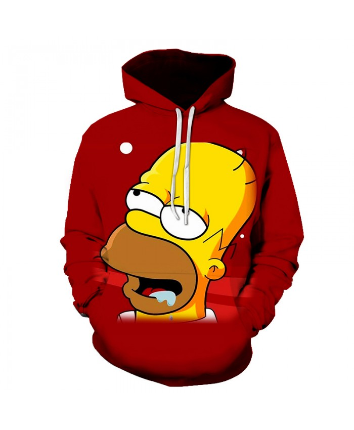 The Simpsons Printed 3D Men Women Hoodies Sweatshirts Quality Hooded Jacket Novelty Streetwear Fashion Casual Pullover PP