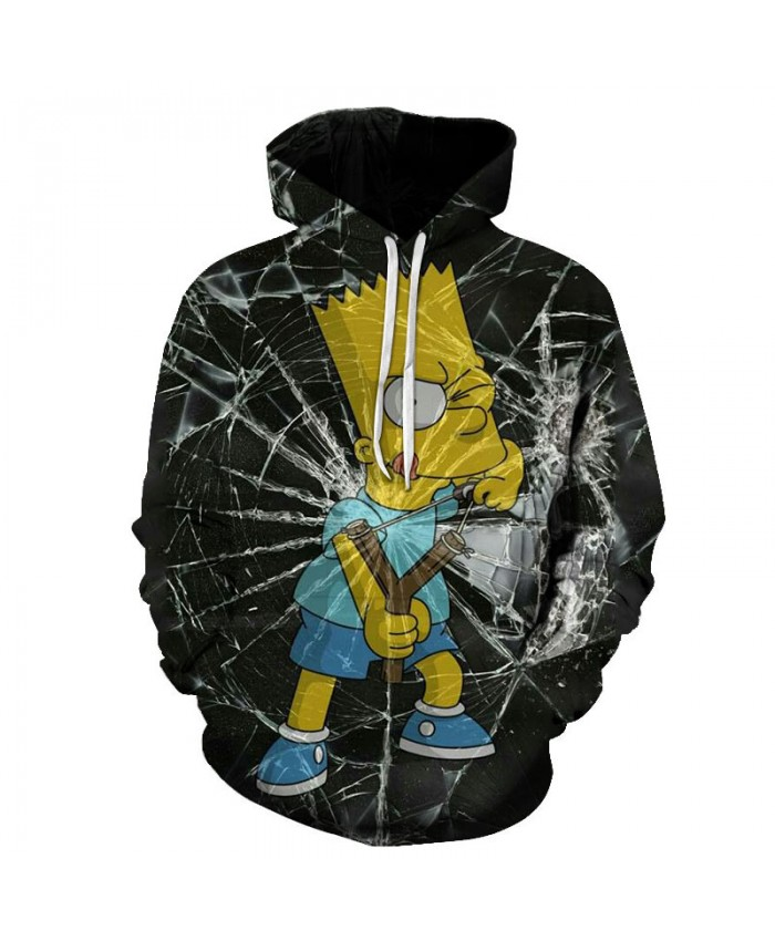 The Simpsons Printed 3D Men Women Hoodies Sweatshirts Quality Hooded Jacket Novelty Streetwear Fashion Casual Pullover X