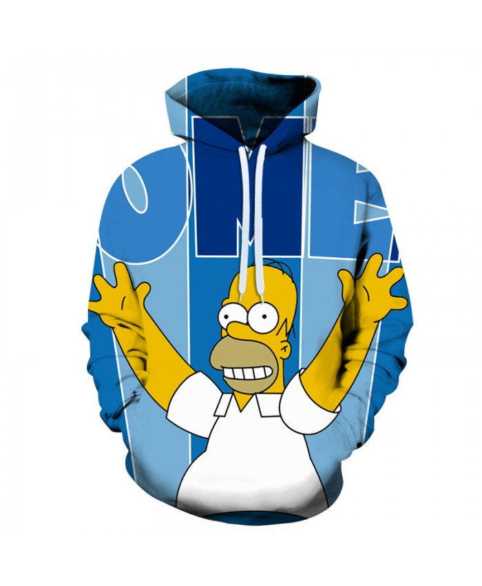 The Simpsons Printed 3D Men Women Hoodies Sweatshirts Quality Hooded Jacket Novelty Streetwear Fashion Casual Pullover YY