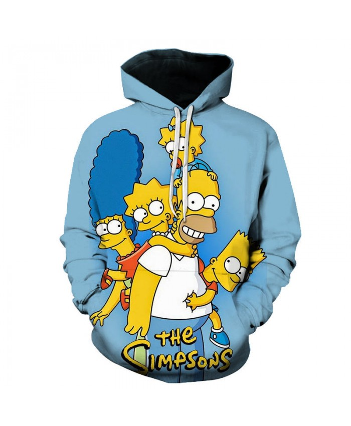 The Simpsons Printed 3D Men Women Hoodies Sweatshirts Quality Hooded Jacket Novelty Streetwear Fashion Casual Pullover Z