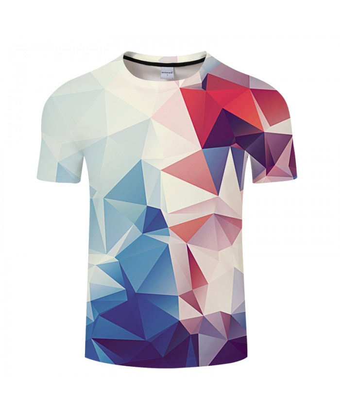 Three-dimensional Background Print 3D T shirts Men Women tshirts Summer Casual Short Sleeve Tops&Tees 2021 Drop Ship